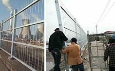 宁海电厂围墙护栏案例