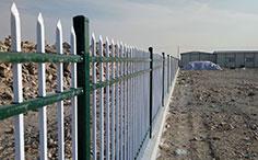 宁波锌钢工地围墙护栏案例